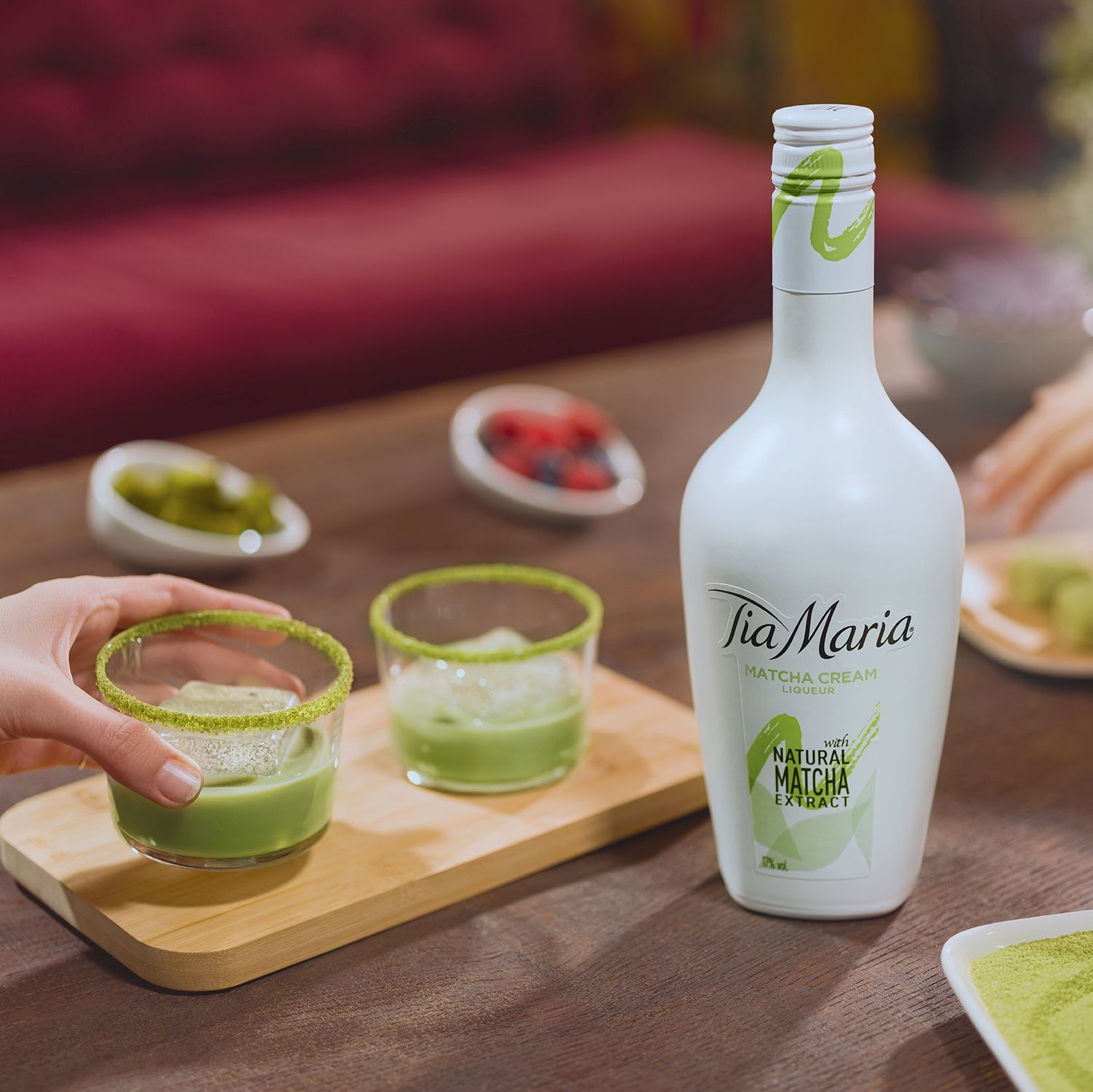 Tia Maria cream liqueur now comes in a Matcha flavour and we can't wait to try it | Goodhousekeeping